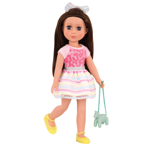 Glitter Girls Shiny Flowers in Bloom Outfit with Doll Candice