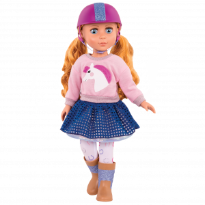 Glitter Girls Gallop & Glow Equestrian Outfit with Doll Poppy
