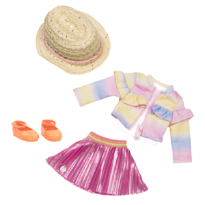 Glitter Girls Cuties in Ruffles & Pleats Outfit