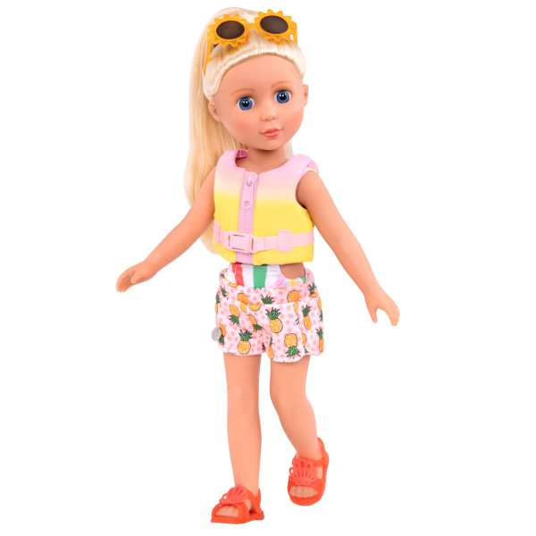 Glitter Girls Bright As the Sun Swimsuit Outfit with Dayle