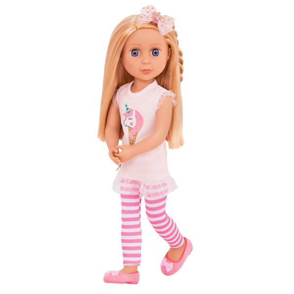 Glitter Girls 14-inch Doll Lacy Posable Arms & Legs