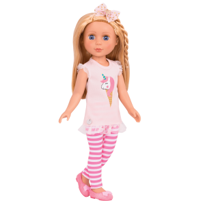 Glitter Girls Posable 14-inch Doll Lacy