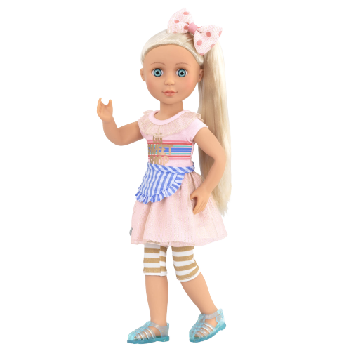 Glitter Girls Posable 14-inch Doll Chrissy Outfit