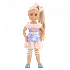 Glitter Girls Posable 14-inch Doll Chrissy Sweet Shop Playset