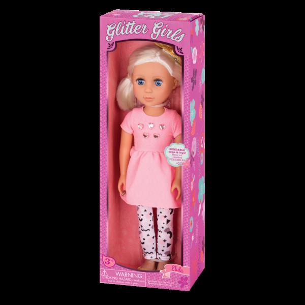 Glitter Girls Posable 14-inch Doll Elula Packaging
