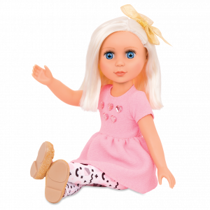 Glitter Girls 14-inch Doll Elula Posable Arms & Legs