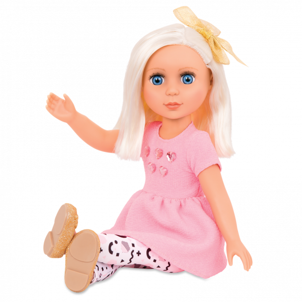 Glitter Girls 14-inch Doll Elula Posable Arms & Legs