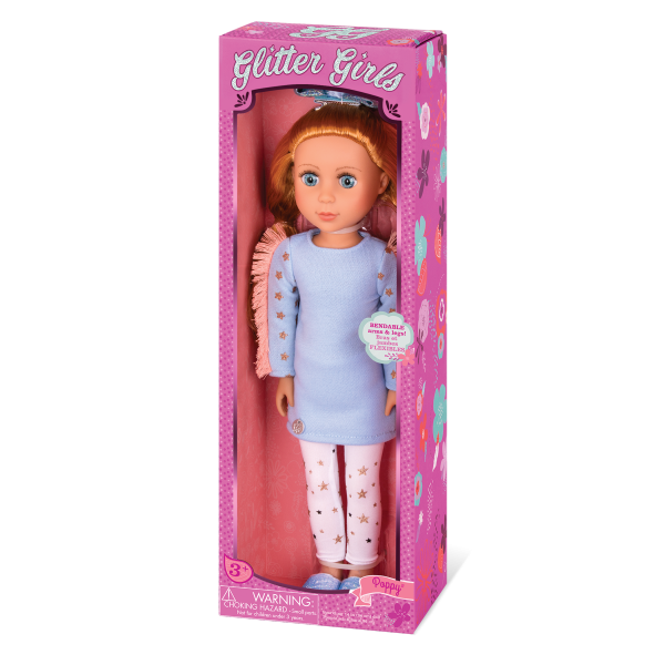 Glitter Girls Posable 14-inch Doll Poppy Packaging