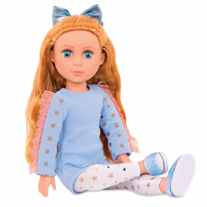 Glitter Girls 14-inch Doll Poppy Posable Arms & Legs