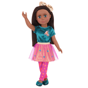 "Glitter Girls 14"" Doll Odessa Poseable Arms & Legs"
