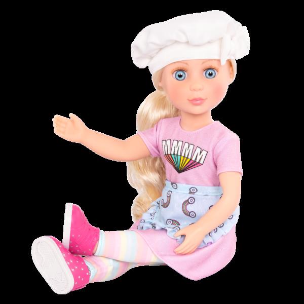 Glitter Girls Posable 14-inch Doll Maren Blonde Hair