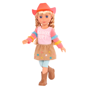 Glitter Girls Posable 14-inch Doll Floe