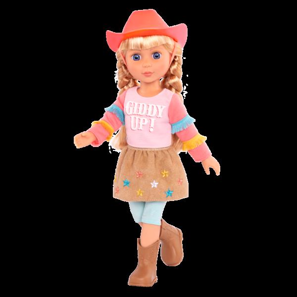 Glitter Girls Posable 14-inch Doll Floe