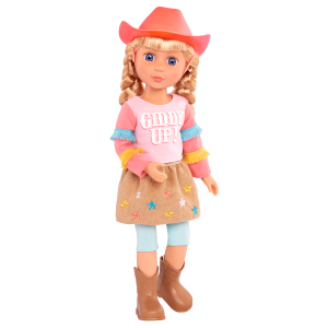 Glitter Girls Posable 14-inch Equestrian Doll Floe