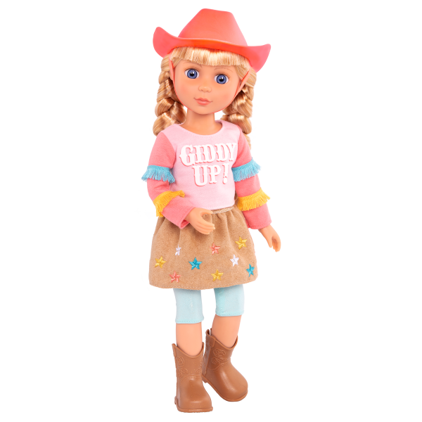Glitter Girls Posable 14-inch Equestrian Doll Floe