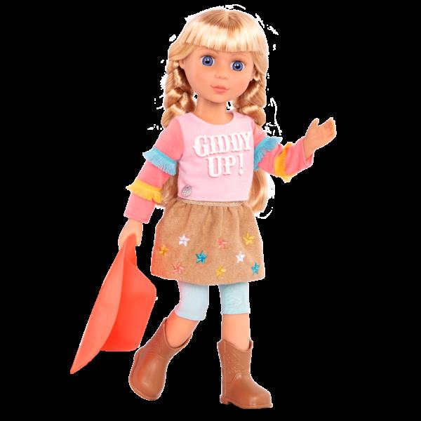 Glitter Girls Posable 14-inch Equestrian Doll Floe Blonde Hair