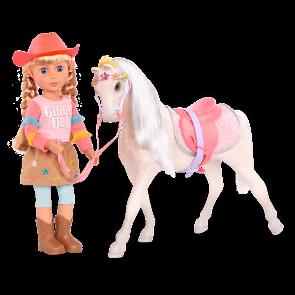 Glitter Girls Posable 14-inch Doll Floe Starlight Horse