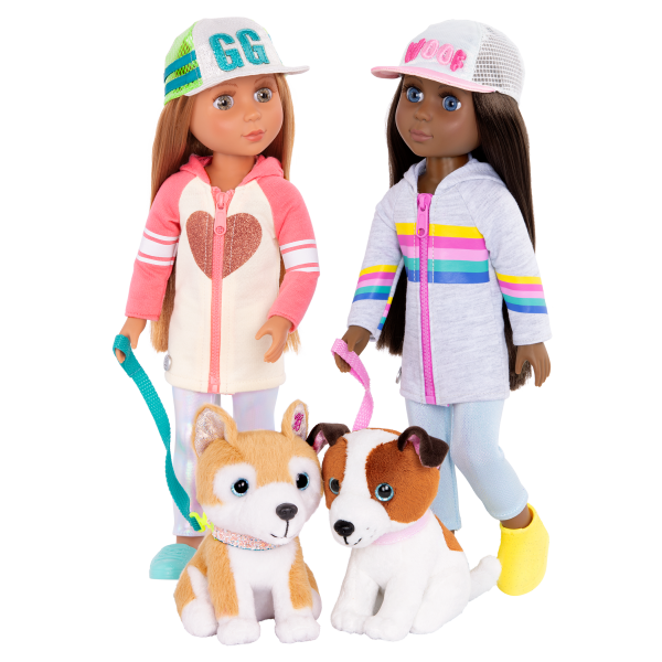Glitter Girls Doll & Pet Jana Cuddles Tavi Nougat