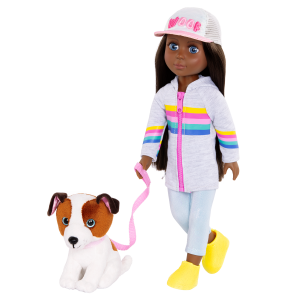Glitter Girls Doll & Pet Jana Cuddles