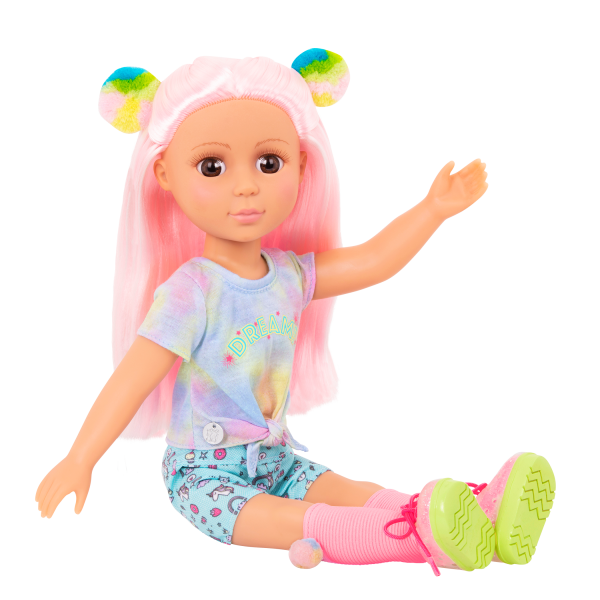 Glitter Girls Doll Nixie Pink Hair Posable