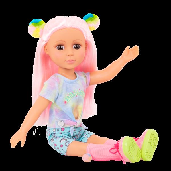 Glitter Girls Doll Nixie Pink Hair Posable