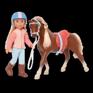Glitter Girls Posable Doll Milla & Horse Milkyway
