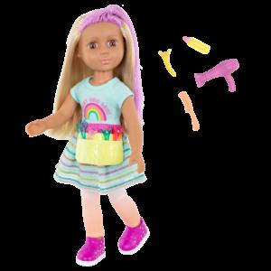 """Glitter Girls 14"""" Hairdresser Doll Brie"""