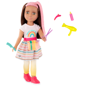 """Glitter Girls 14"""" Hairdresser Doll Lara"""