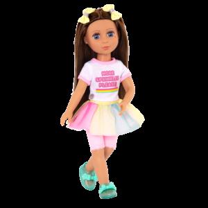 "Glitter Girls Poseable 14"" Doll Kika"