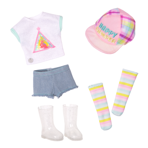 Glitter Girls Doll Astrid Camping Outfit