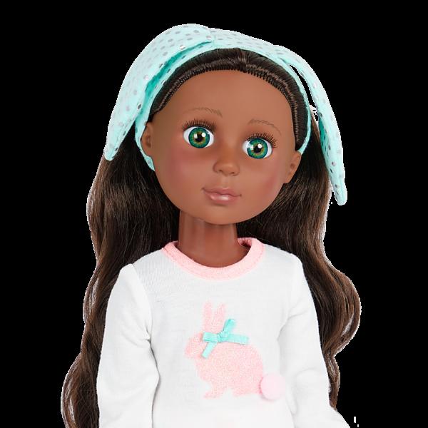 Glitter Girls Eniko 14-inch Pajama Party Doll Headband Accessory