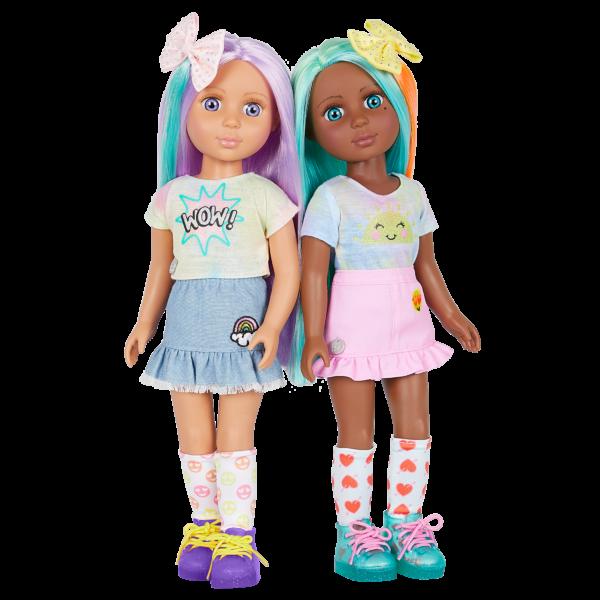 Glitter Girls Dolls Luma and Duckie