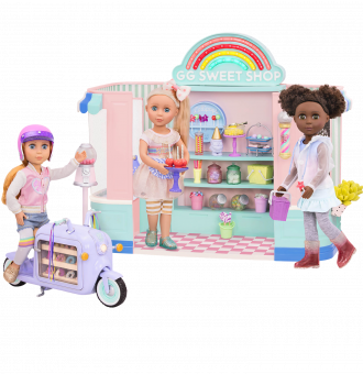Glitter Girls Dolls Sweet Shop Nelly Chrissy Poppy