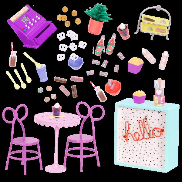 Glitter Girls Sweet Shop Terrace Set