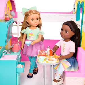 Glitter Girls Doll Play Food Breakfast Set Keltie Sashka