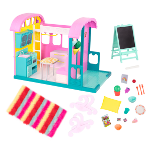 Glitter Girls Doll House for 14-inch Dolls