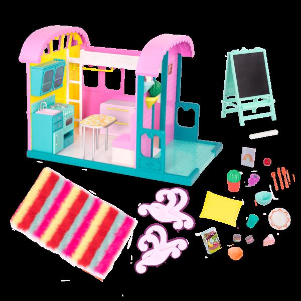 Glitter Girls Doll House for 14-inch Dolls
