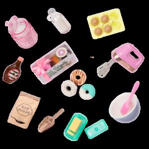 Glitter Girls Donut Baking Set