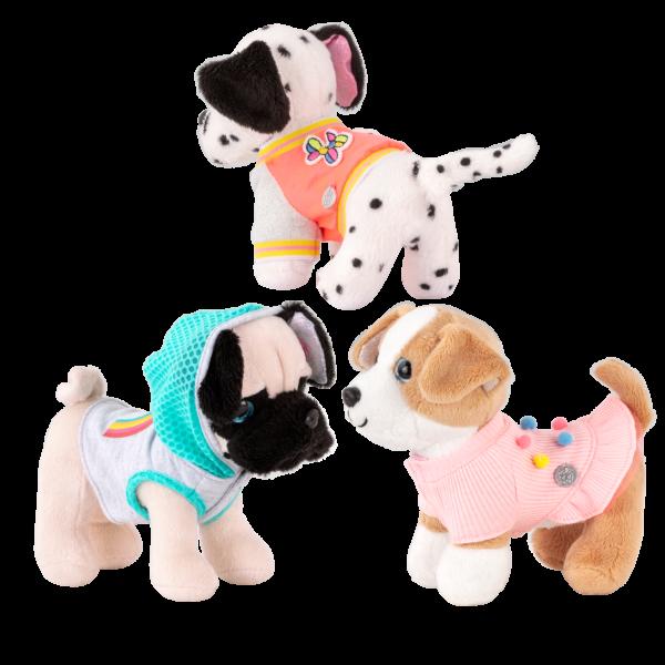 Glitter Girls Plush Pet Dogs Lollie Pepper Daisy