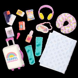 Glitter Girls Carry-On Luggage Set