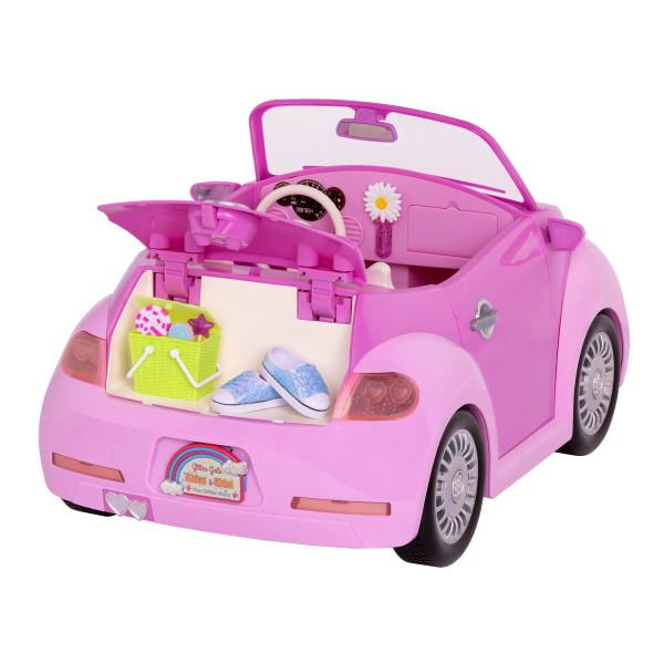 Glitter Girls Purple Convertible Car Storage Trunk