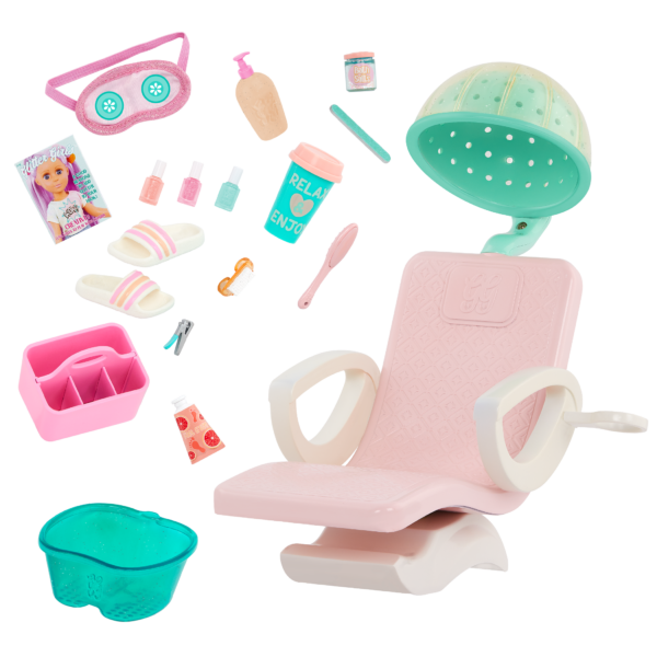 Glitter Girls Dolls Salon Chair Playset