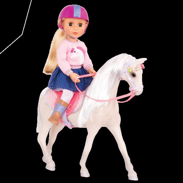Glitter Girls Horse Starlight with Doll Amy Lu
