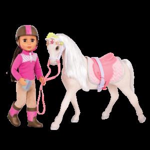Glitter Girls Horse Starlight with Doll Sarinia